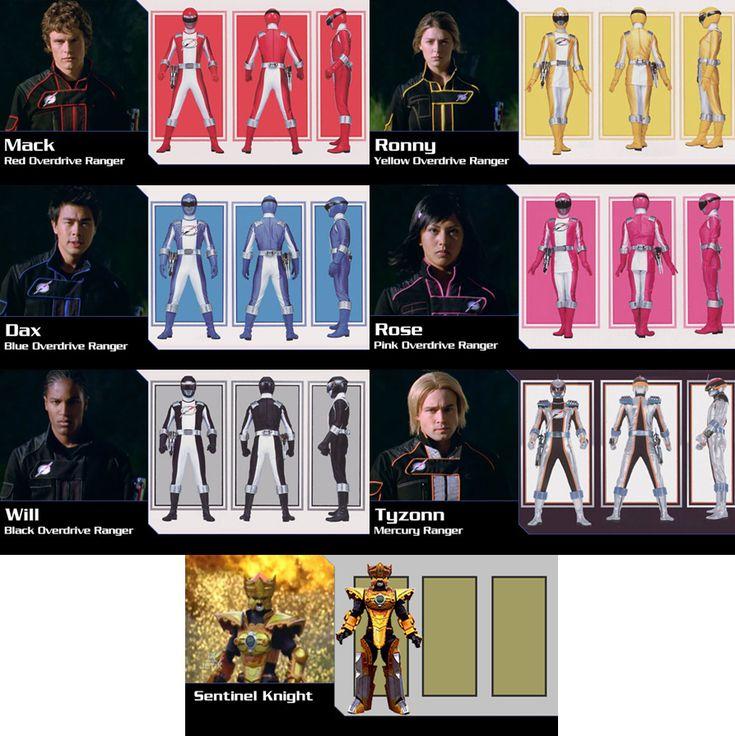 Power Rangers Operation Overdrive Season 15