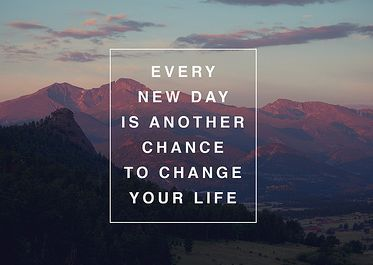Change your life... quote