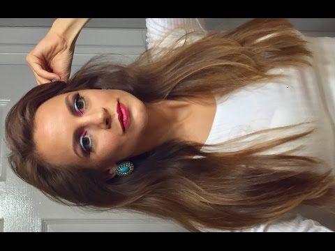 Spring makeup tutorial 2017