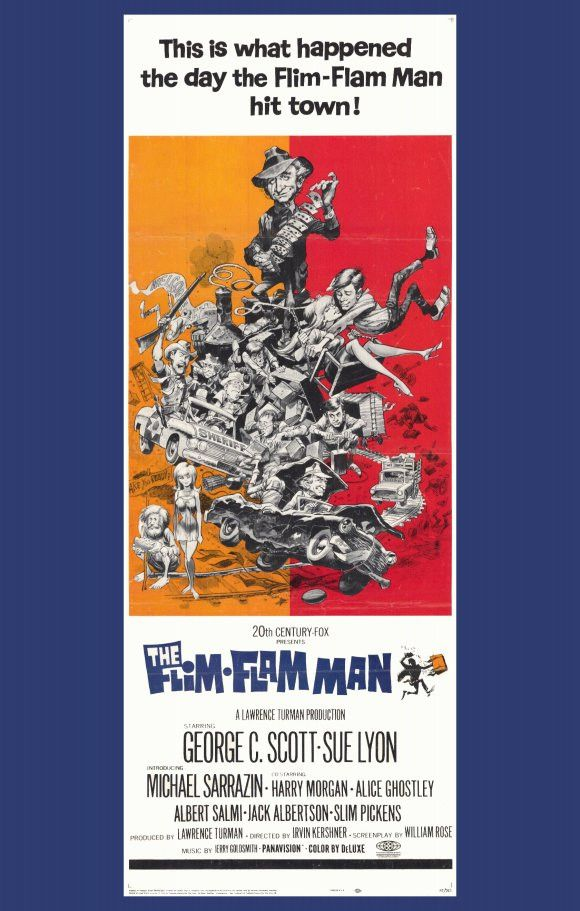 The Flim Flam Man 11x17 Movie Poster (1967)