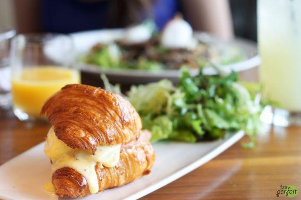 poached eggs x smoked salmon croissant :: Mildred's Temple Kitchen, Toronto