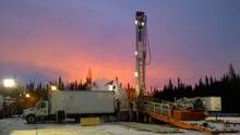 An Athabasca Oil drilling rig. A northern Alberta First Nation has made good on pledge to keep fighting an oil sands project proposed by Ath...