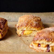 Peach Cobbler Scones   Joy the Baker