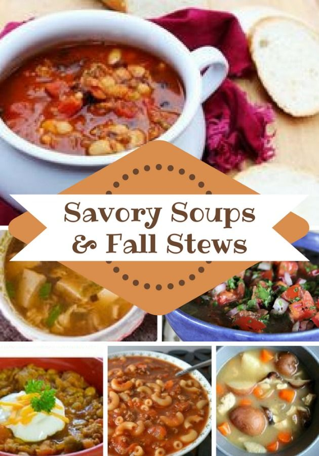 This collection of 18 of the best fall soup recipes & stews are sure to be pleasing additions to your meal plan during chilly months.