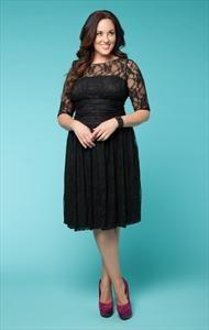 LUNA LACE DRESS IN BLACK http://www.curvety.com/dresses-c1/party-dresses-c14/kiyonna-luna-lace-dress-in-black-p123: Fashion, Style, Clothing, Wedding, Plus Size Dresses, Luna Lace, Black Dress, Lace Dresses, Lane Bryant