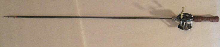 "Lot #239 - Bristol Telescopic Steel Fishing Rod w/Shakespeare ""Direct Drive"" Reel"