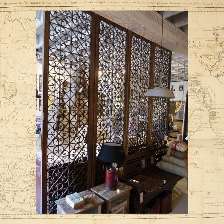Moroccan 19thC Iron Doors | Elements i love...$9500