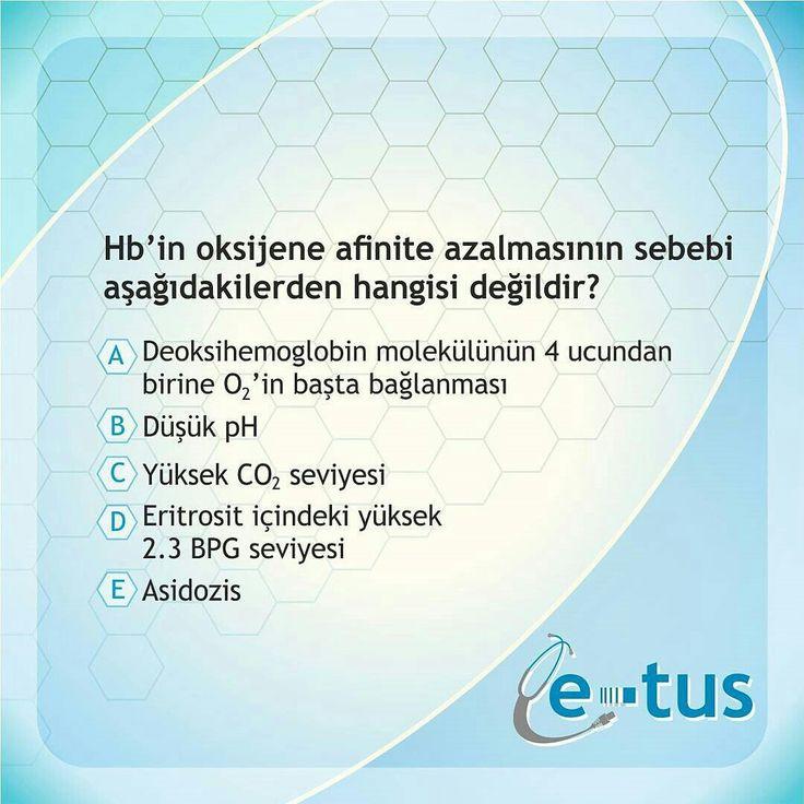 GÜNÜN SORUSU | DOĞRU CEVAP :A  Takipte Kalın  www.e-tus.com www.e-yandal.com #tipci #stajyer #tipfakultesi #hastane #öğrenci #hasta #sinif #doktor #asistan #ösym #tuscu  #TUS #TUSSoruları #Yandal #TUSSorucevap #Tıp