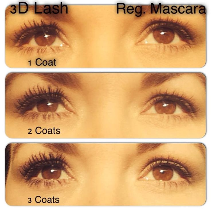 This is why I LOVE this mascara!!! Available at www.mineralbeautybox.com