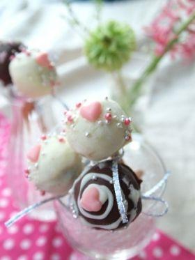 「【バレンタイン】豆腐トリュフのポップス」fanifani | お菓子・パンのレシピや作り方【corecle*コレクル】