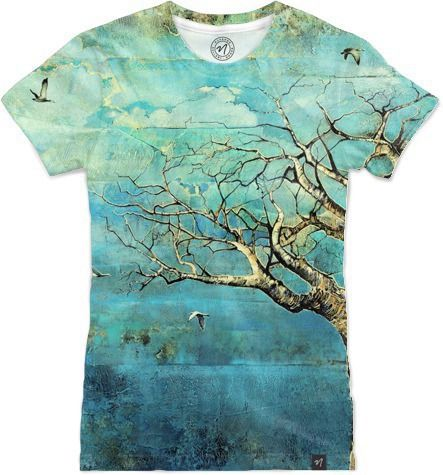 Before The Storm Tree by Brian Rolfe Art - Women's T-Shirts - $49.00