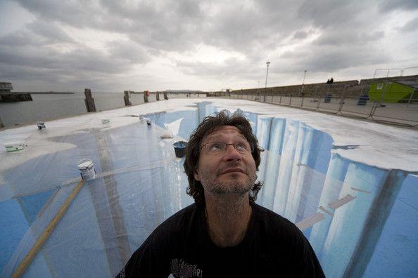 Edgar Mueller Photo - 3D Street Art Artist Edgar Mueller - Paintings