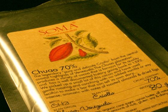 Soma Chuao 70% Dark Chocolate