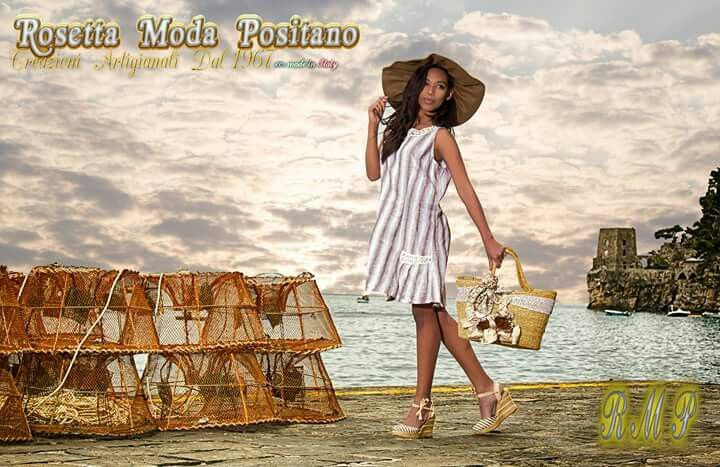 Abitino in lino e borsa lavorata #modaartigianalepositano#rosettamodapositano#madeinitaly#linen#Ilovepositano#seaandsun#welcomesummer