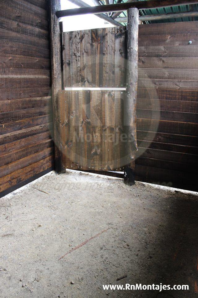 Pesebreras de Madera semi portátiles. De diferentes medidas : 3m x 3m  3m x 4m 4m x 4m