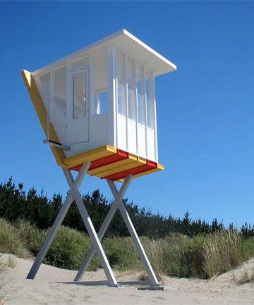 Lifeguard tower wins architecture award