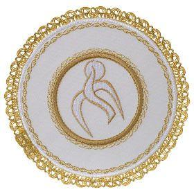 Servicio de altar 100% hilo esfera redonda Espíritu Santo
