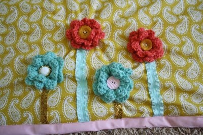 Girly tummy time mat :)