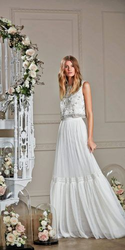 19849b6ae75 On Trend  24 Bridal Separates And 8211  Breaking The Rules ☆ See more