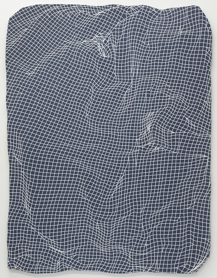 Jeremy DePrez<br /> <i>Untitled (Winter Version)</i>, 2014<br /> Acrylic on canvas over panel<br /> 83 x 63 inches<br /> 210.8 x 160 cm