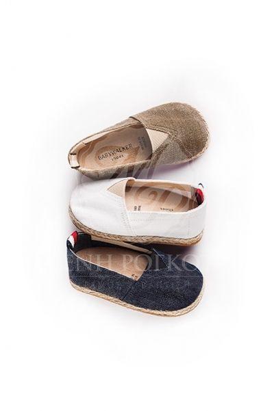 Παπούτσια βάπτισης περπατήματος εσπαντρίλιες για αγόρι babywalker