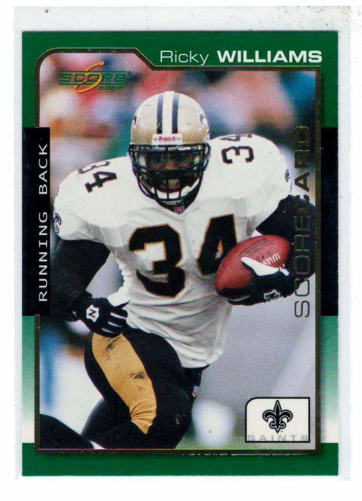 Sports Cards Football - 2000 Score # 961/2000 (Scorecard) Ricky Williams