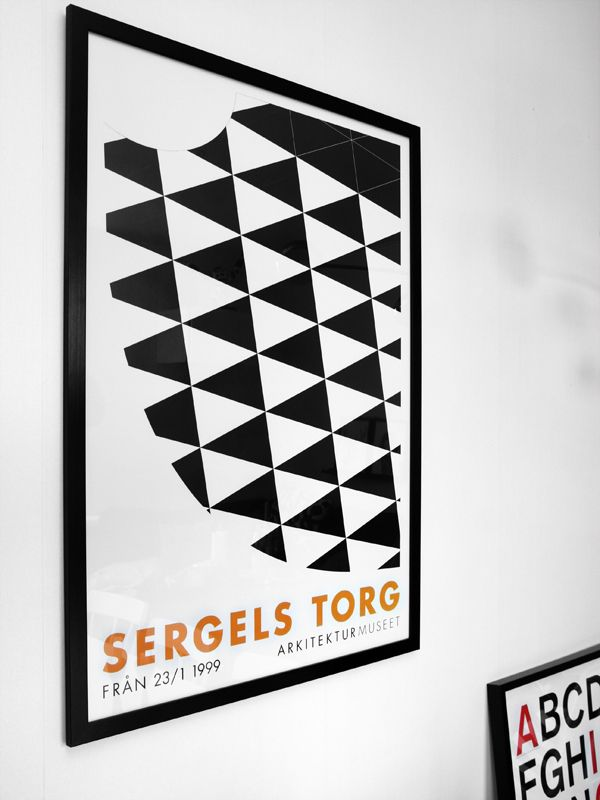Via Anna Grundberg | Sergels Torg Poster | with View of the Square as seen from the Tower :)