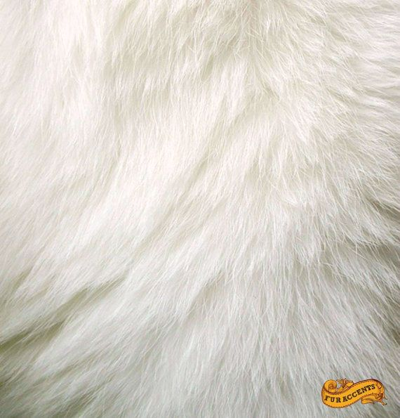 Luxury Faux Fur Fabric Yardage Remnant Piece Thick