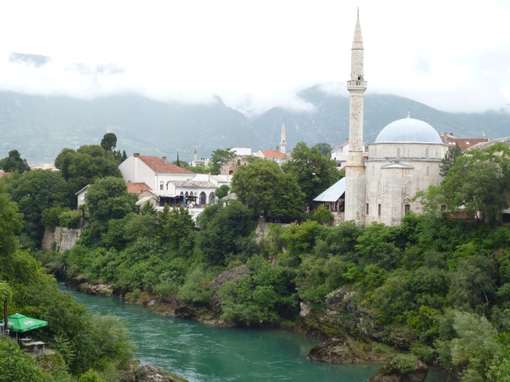 The Mosque from the old bridge.