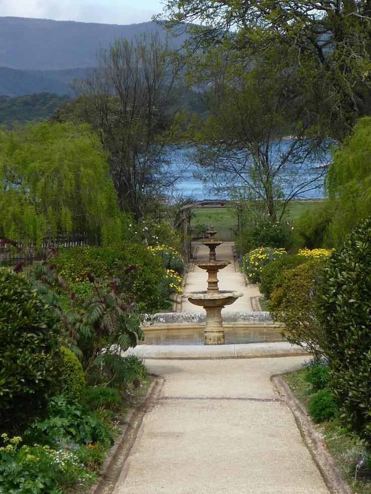 Garden at Port Arthur, Tasmania