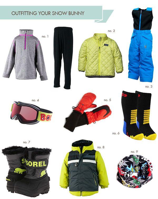 ski clothes for kids