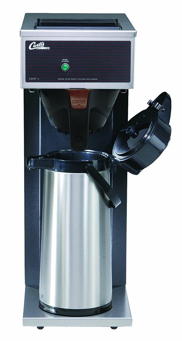 Wilbur Curtis Commercial Pourover Coffee Brewer 2.2L Airpot Single Coffee Brewer - Coffee Maker with Fast-Brewing System - CAFE0AP10A000 (Each) ** See this awesome image  : Coffee Maker