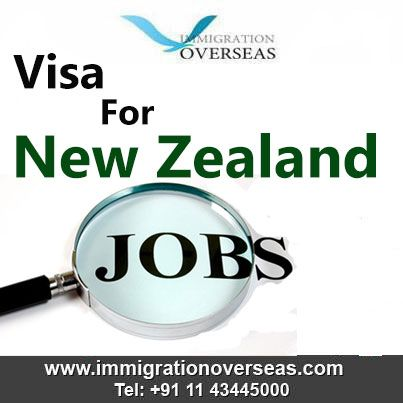 Get Good jobs in New Zealand. Immigration Overseas offers different category of visas to the client's looking to work in New Zealand.