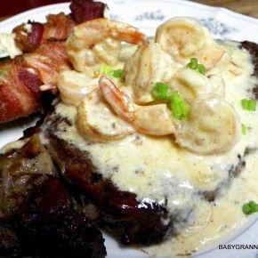 Cajun Cream Sauce with Shrimp. Serve over steak, chicken, seafood, or pasta.