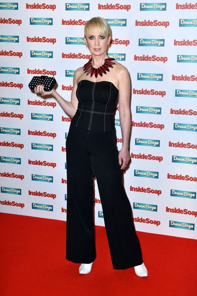 Lysette Anthony attends the Inside Soap Awards at The Hippodrome on October 3, 2016 in London, England.