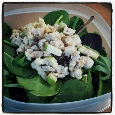 Skinny Eatz - Chicken Waldorf Salad - The Kitchen Table - The Eat ...
