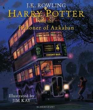 O ediție minunat ilustrată de Jim Kay în cele mai misterioase tușe și cele mai interesante nuanțe pline de magie! Când un autobuz magic apare de nicăieri în întunericul nopții și se oprește chiar în fața lui Harry Potter atunci ne putem imagina că va fi un nou an neobișnuit pentru acesta la Hogwarts
