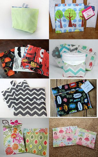 --Pinned with TreasuryPin.com Winter Snack Bag Triumph byJKimprints