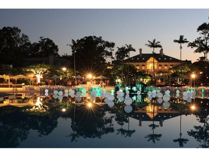 InterContinental Resort - evening event setting