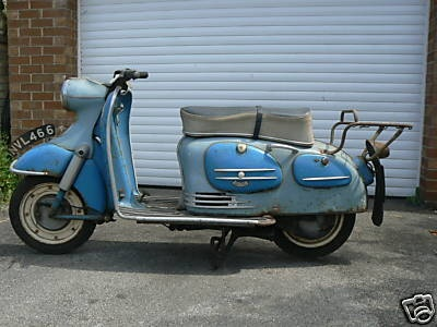 1959 Puch Alpine Scooter