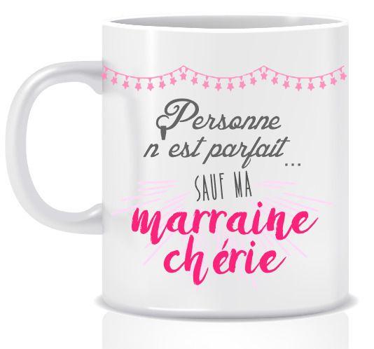 MUG ROSE POUR MARRAINE AVEC PHOTO : Vaisselle, verres par lfaitmaison