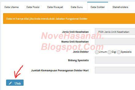Nove Hasanah: PUPNS Cara Mengisi Data untuk Dokter