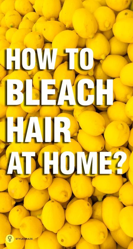 How to Bleach Hair at Home : Here are top 5 ways that will help to naturally bleach your hair.