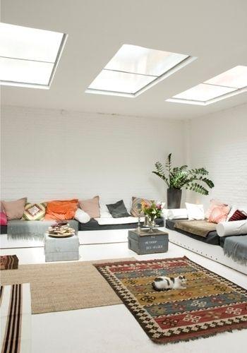 Een heerlijke loungehoek in je huiskamer/serre/werkkamer/televisiekamer/kinderkamer heb je zo zelf in elkaar getimmerd.