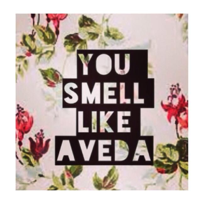 Who wouldn't want to smell like #Aveda? Try one of our many compositions to give you that natural Aveda scent!