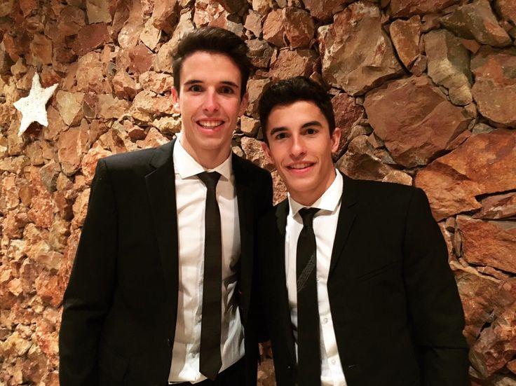 Marc Marquez & Alex Marquez.