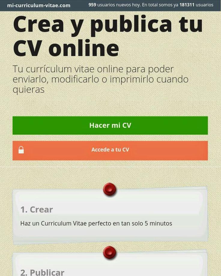 Capacity: Palabras con voz...: Cinco Formas de desarrollar tu curriculum on line.