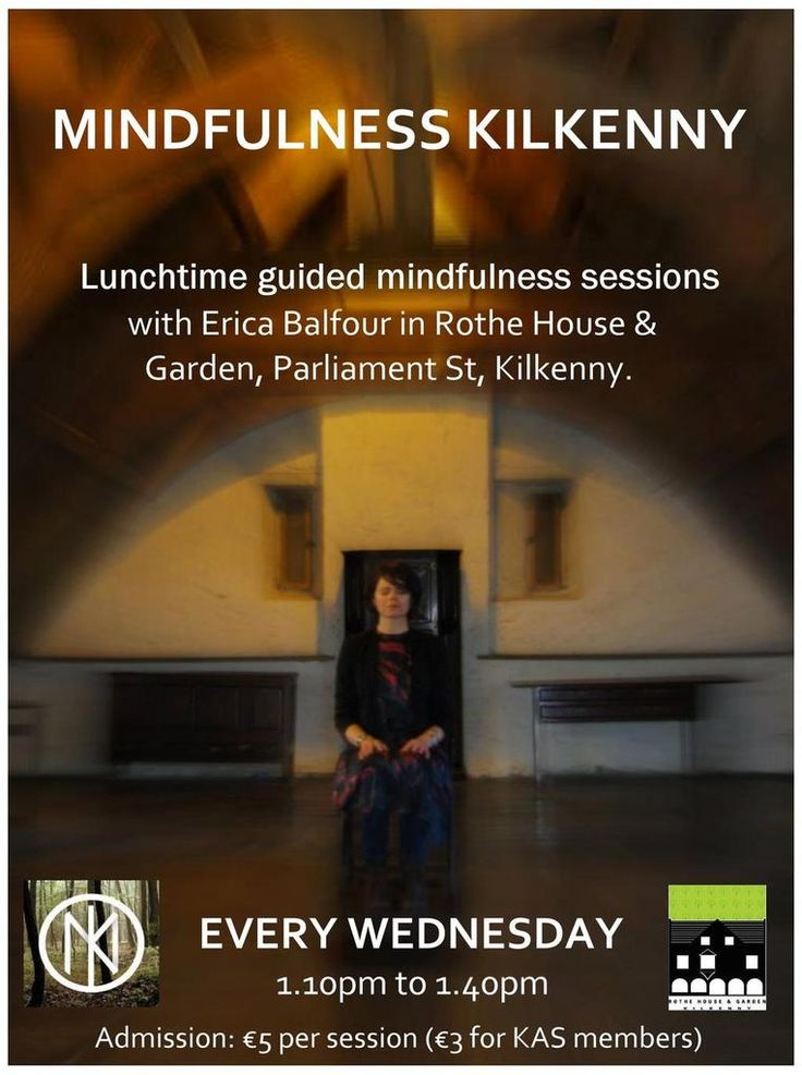 #Mindfulness at @RotheHouse #Kilkenny