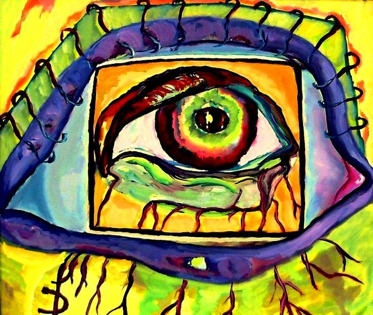 Photo Camera  Oil on canvas, 40 x 60 cm; Price: 600 dollars