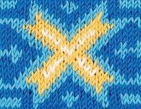 Узор «Яблони в цвету» - схема вязания спицами. Вяжем Узоры на Verena.ru